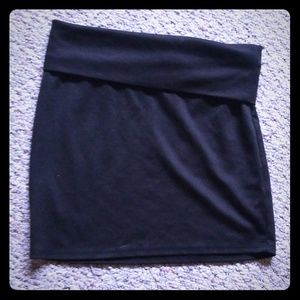 Nollie Black Mini Skirt
